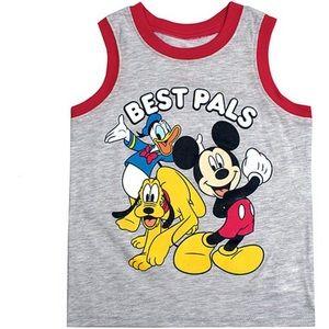 Gray Disney Mickey & Friends 'Best Pals' Tank